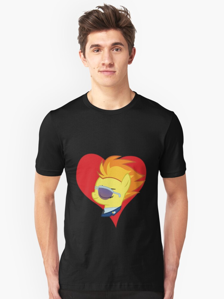 I have a crush on... Spitfire Unisex T-Shirt Front