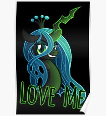 LOVE ME Chrysalis Poster (My Little Pony: Friendship is Magic) Poster