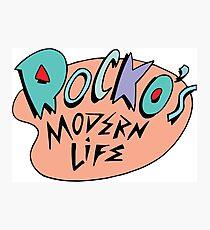 Rocko's Modern Life Photographic Print