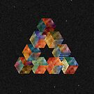 Impossible Triangle IPad case by Sam Mobbs