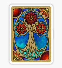 Stained glass window Sticker