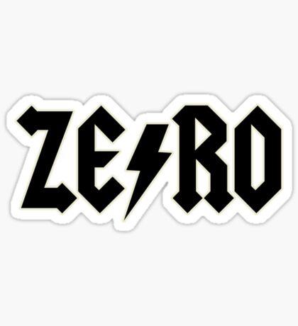 Zero AC/DC Sticker