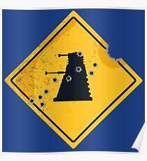 Dalek Crossing Poster