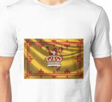 Crown of Scotland over Lion Rampant of Scotland Unisex T-Shirt