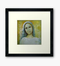 Bride to anyone Framed Print