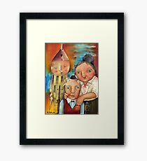 Guardian Of The Hearth Framed Print