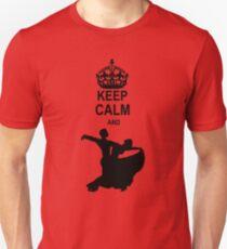 Keep Calm and Ballroom Dance T-Shirt