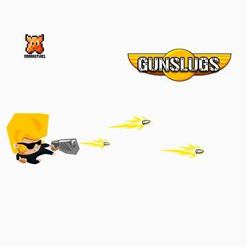 Gunslugs hoodie by orangepixel