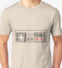 NES controller word cloud Unisex T-Shirt