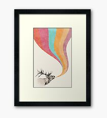 Elk Song Framed Print