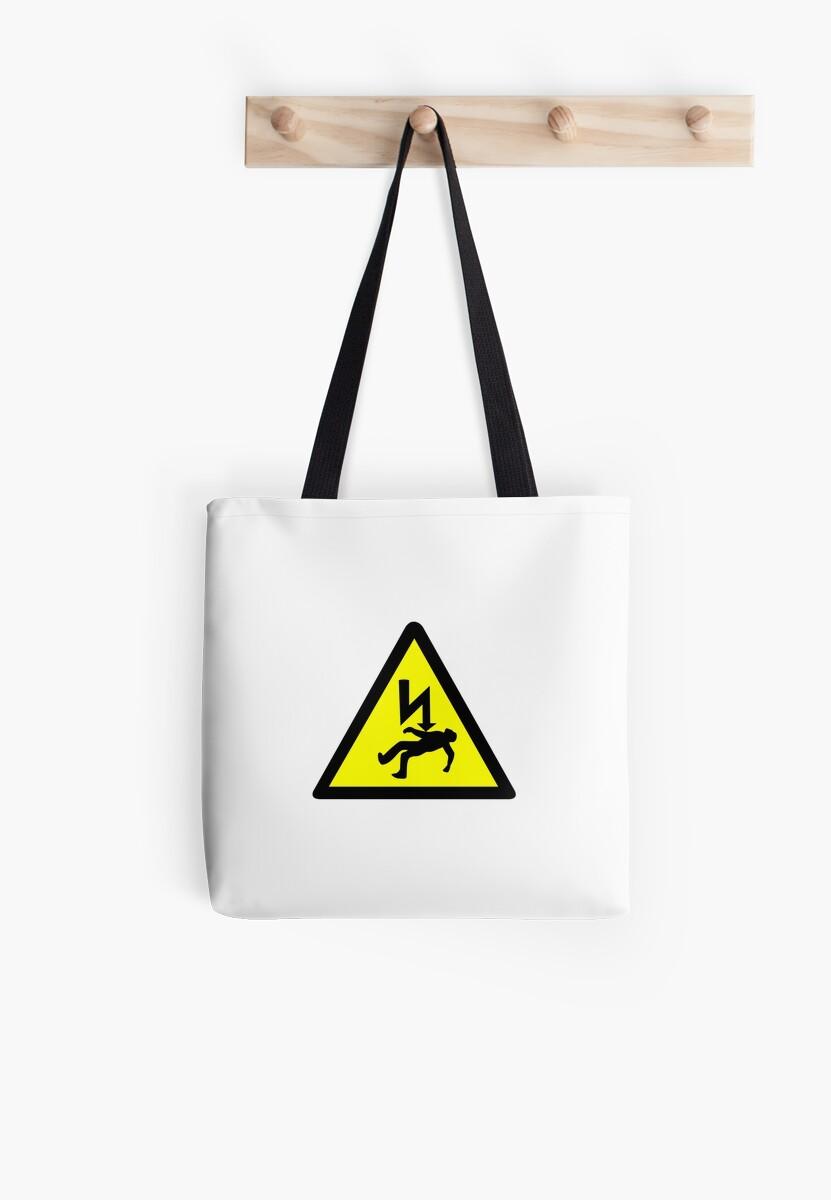 Danger of electric shock Symbol.\