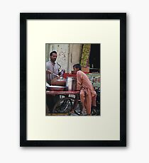 Spicy Food makes Hungry Framed Print