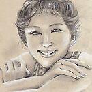 Emi Takei Sketch by Lubna