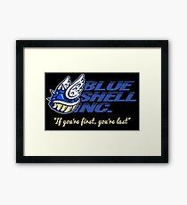 Blue Shell Inc. (no distressing) Framed Print