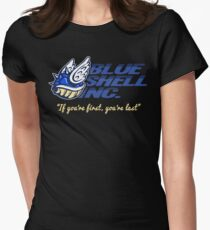 Blue Shell Inc. (no distressing) Women's Fitted T-Shirt