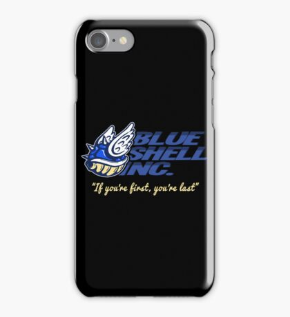 Blue Shell Inc. (no distressing) iPhone Case/Skin