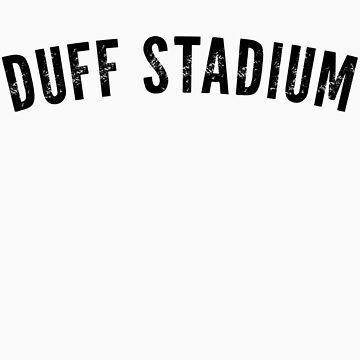 Duff Stadium Shirt by typeo