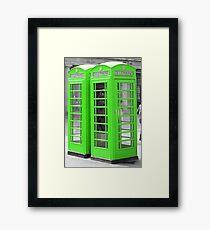 London Telephone Box  Framed Print