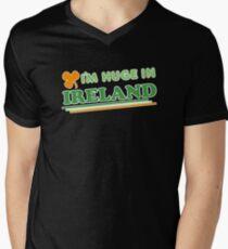 Im Huge In Ireland St Patricks Day Mens V-Neck T-Shirt