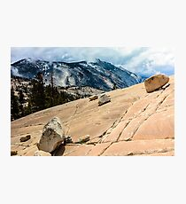 Olmsted Point Yosemite Photographic Print