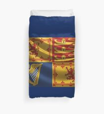 Royal Standard of the United Kingdom in Scotland Duvet Cover
