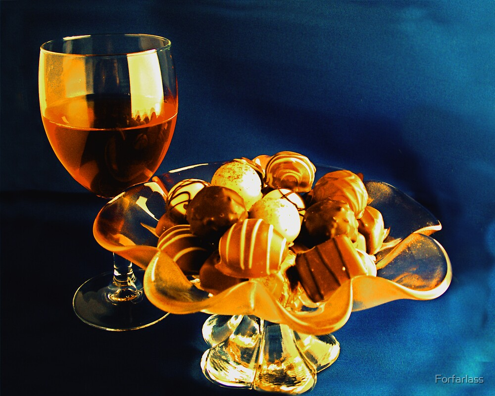 Wine and Chocolates by Forfarlass