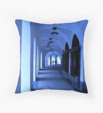 Old Gangway in Old Prague, Czech Republic  Throw Pillow