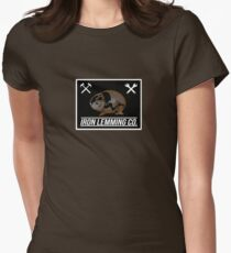 IRON LEMMING CO.  Womens Fitted T-Shirt