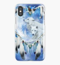 Holiday Wolves iPhone Case