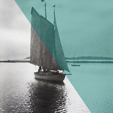Vintage New England Sailor by Moonlightoak
