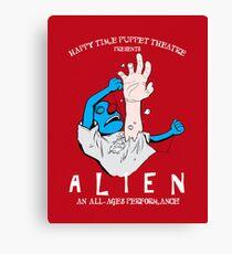 ALIEN: Preschool Edition Canvas Print
