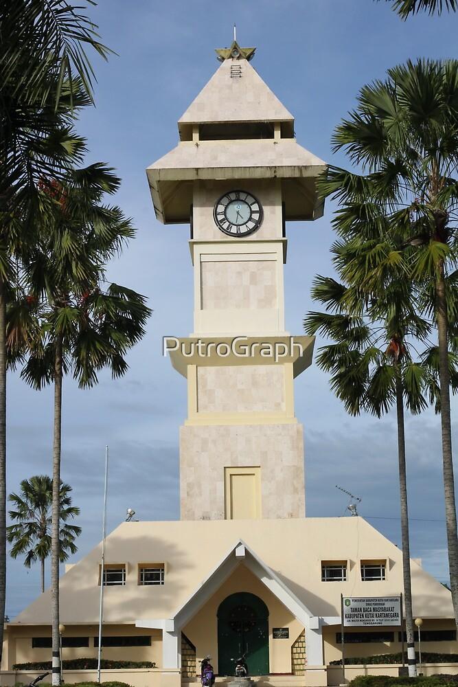 Borneo Kutai Kartanegara Bentong Clock Tower by PutroGraph