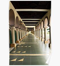 Islamic Center of Samarinda Alleyway Poster