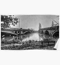 Attingham Bridges, Shropshire Poster