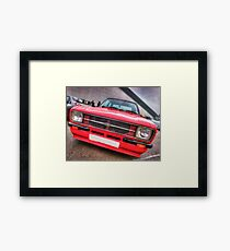 Ford Escort Mk II Framed Print
