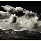 Clouds and Mountains by Joseph D'Mello