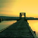 Sunset Bridge by Tickleart