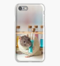 Working at the Laboratory iPhone Case/Skin