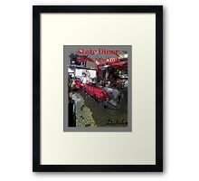 State diner ithaca ny by david kessler redbubble for Ithaca t shirt printing