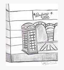 British Telephone Booth Photographic Print
