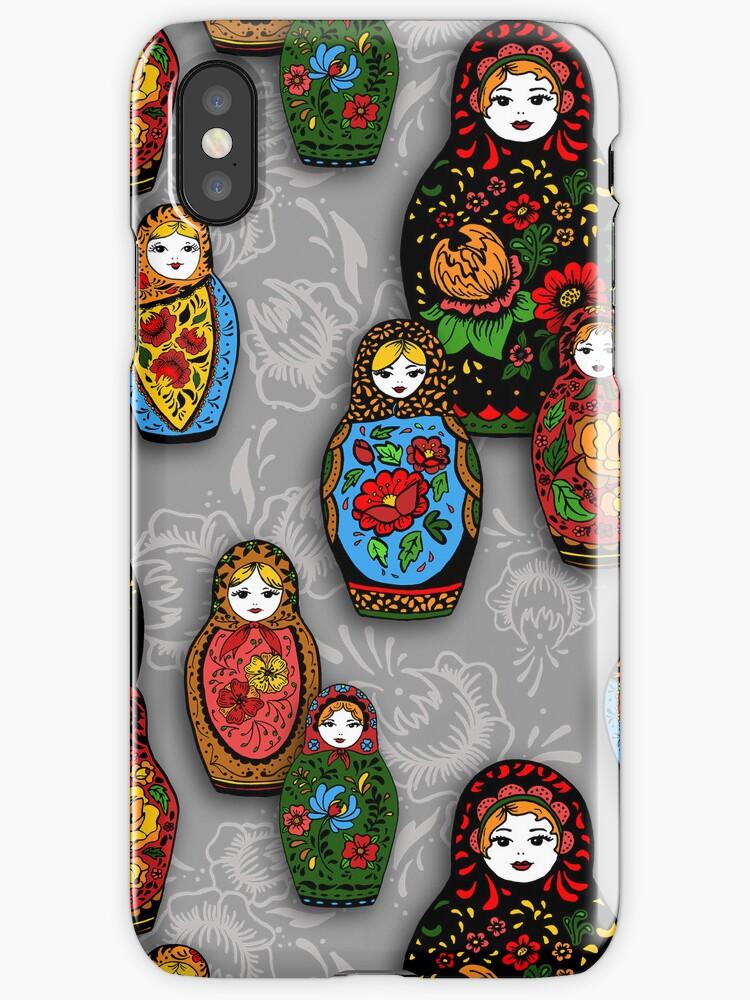 colorful matryoshka by KatyaZorin