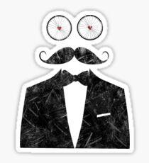 Fancy Mustache Sticker