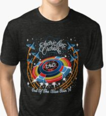 E.L.O. Out of The BLUE TOUR Tri-blend T-Shirt
