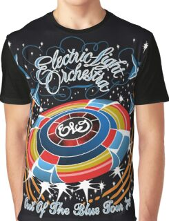 E.L.O. Out of The BLUE TOUR Graphic T-Shirt