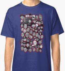 alte Schule Hip-Hop-Legenden-Collagenkunst Classic T-Shirt