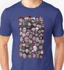 old school hip hop legends collage art T-Shirt