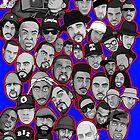 « old school hip hop legends collage art » par gjnilespop