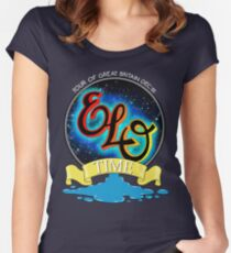 E.L.O. TIME TOUR 1981 Women's Fitted Scoop T-Shirt