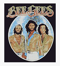 Bee Gees DISCO BALL Photographic Print