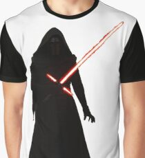 Kylo Ren Shadow Style Graphic T-Shirt